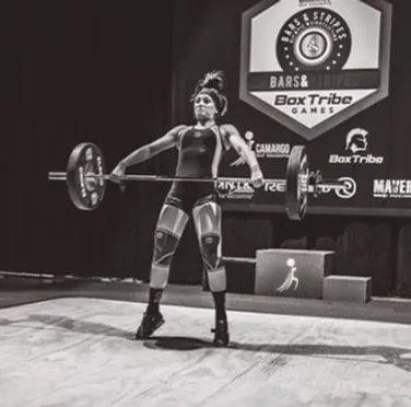 Brittlan Wall, Weightlifter 64kg