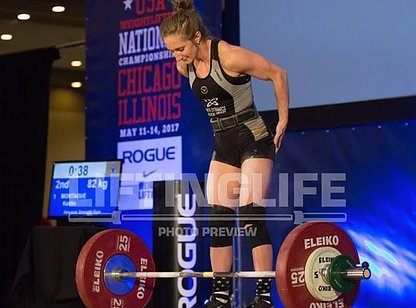Kaitlin M. National Weightlifter 48 kg