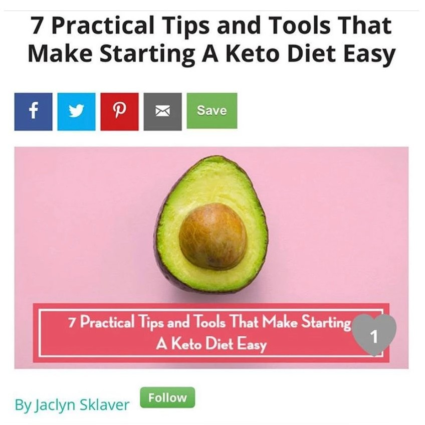 7 Tips for Starting Keto