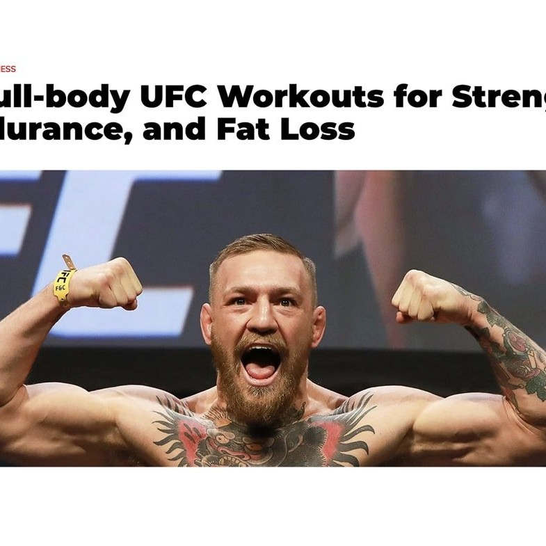 Men's Journal UFC Workouts