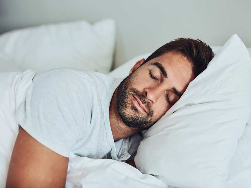 athlete improving sleep
